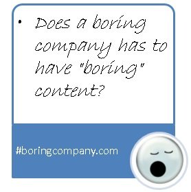 "How To Engage Audience In ""Boring"" Industries With Interesting Content?"