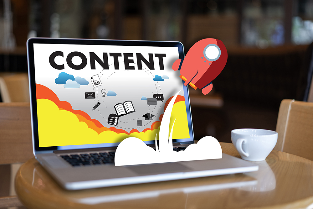 Content may be king, but if it's not engaging; no one will look at it.